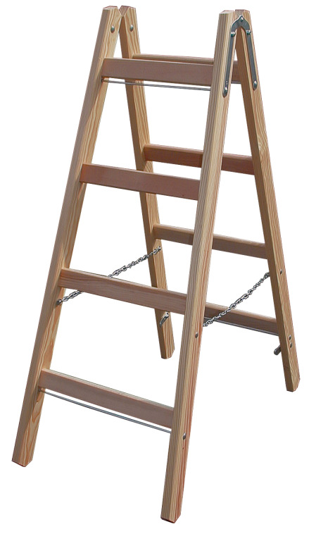 Деревянная лестница стремянка своими руками видео