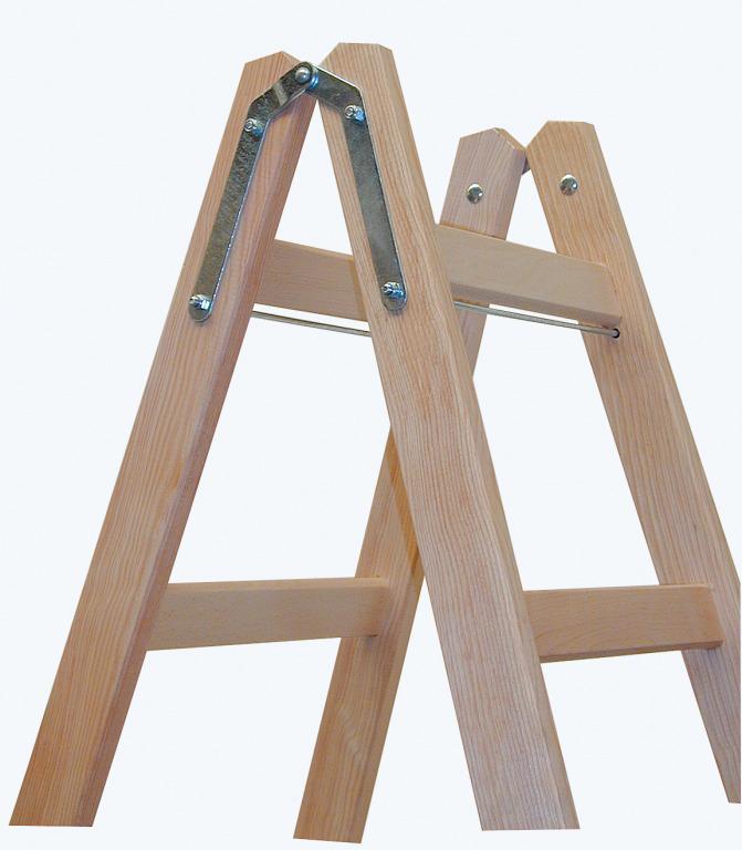 Изготовление лестницы стремянки из дерева своими руками